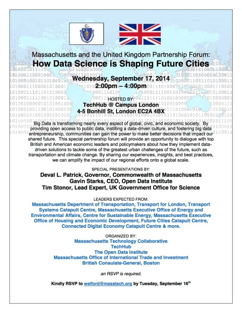 Massachusetts and the United Kingdom Partnership Forum