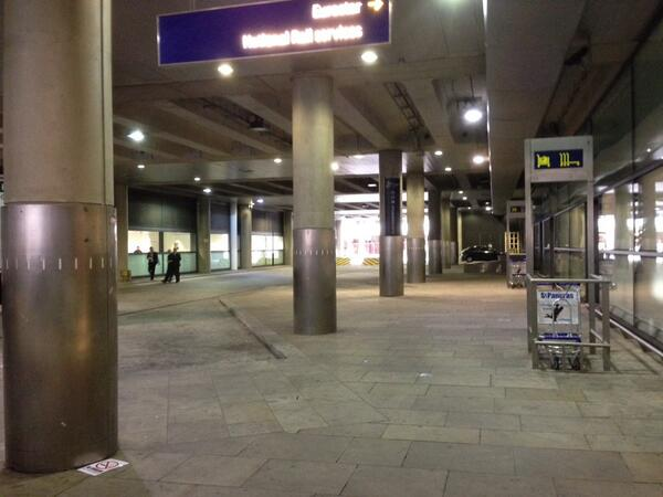 St Pancras loading dock