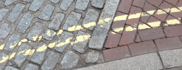 Conservation lines in Faversham